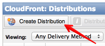 """Create a Cloudfront distribution endpoint"""
